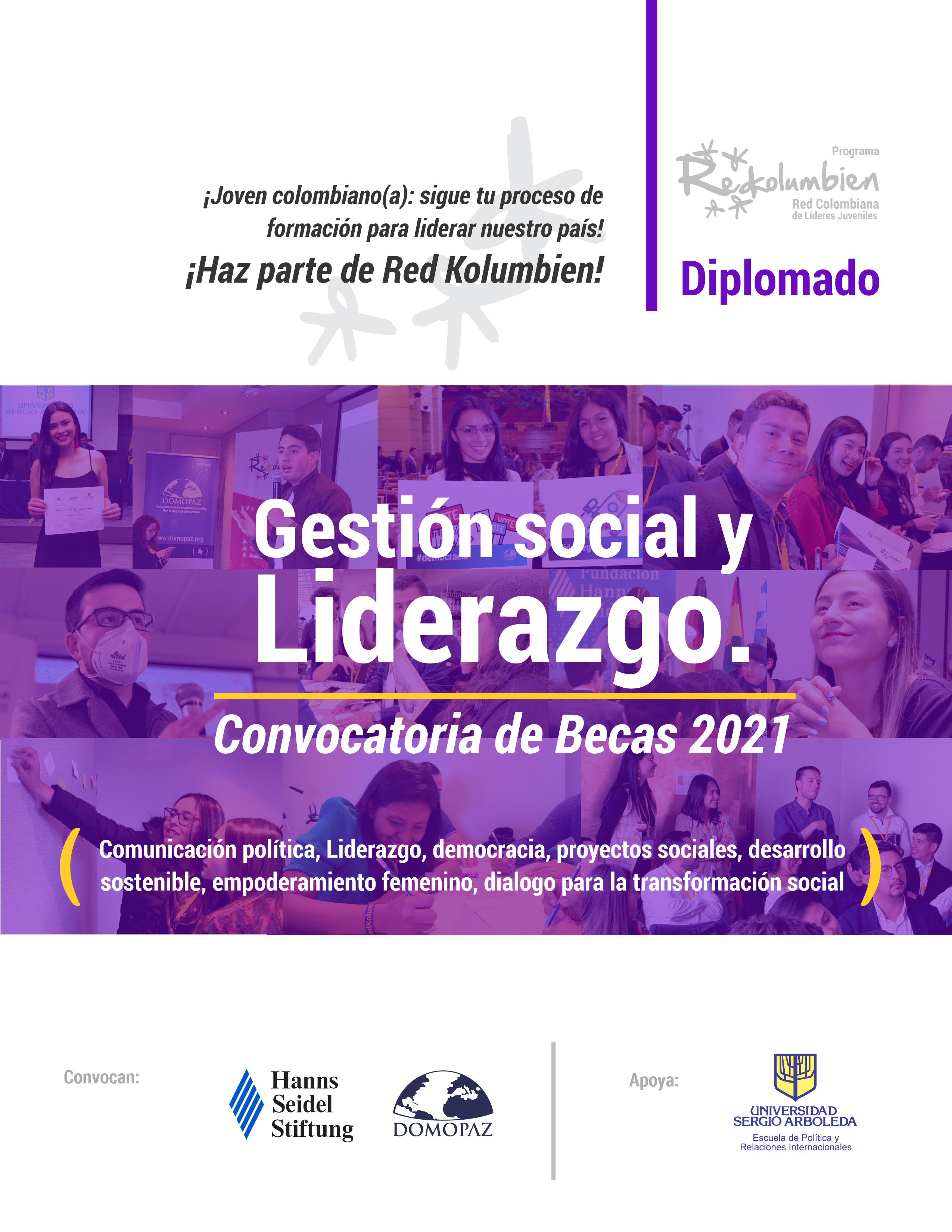 AFICHE DIPLOMADO GESTION SOCIAL Y LIDE 2021