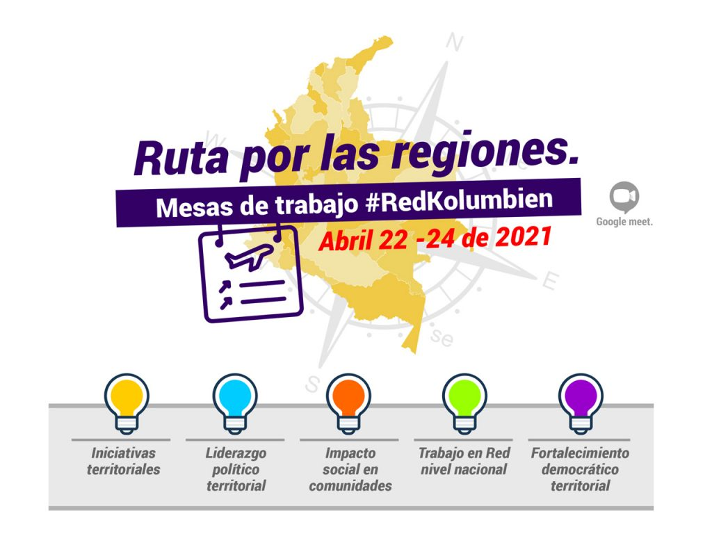 Rutas por las regiones | RedKolumbien